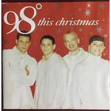Cd 98 Degrees   This Christmas [1999] Ed Japão   Nick Lachey